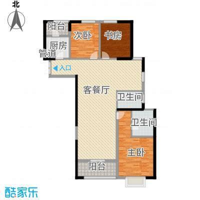 置地广场140.00㎡置地广场户型图G3户型3室3厅3卫1厨户型3室3厅3卫1厨
