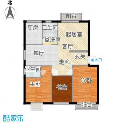 学林雅苑118.56㎡学林雅苑户型图3室2厅2卫1厨户型10室