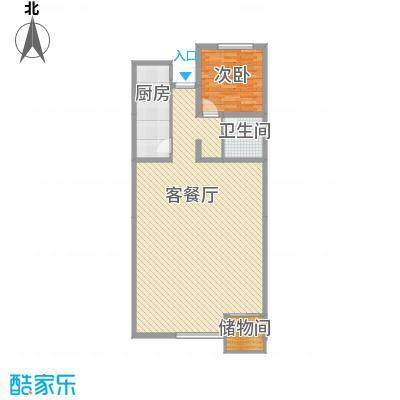 九合家园九合家园户型图桥华1室1厅1室户型1室