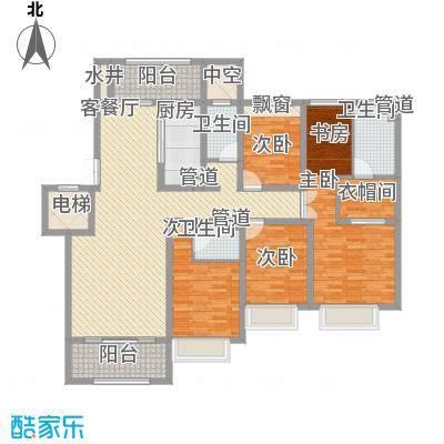 绿地乔治庄园187.00㎡绿地乔治庄园户型图二期花园洋房187平米户型5室2厅3卫1厨户型5室2厅3卫1厨