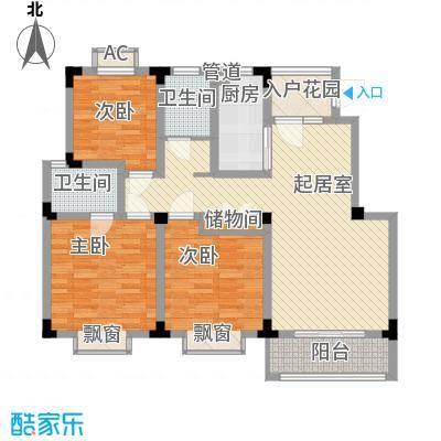 尚泽时代广场112.19㎡尚泽时代广场户型图G23室2厅2卫1厨户型3室2厅2卫1厨