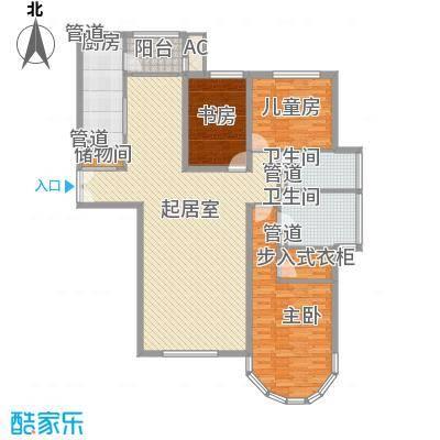 星富花园星富花园户型图3-2-223室2厅2卫1厨户型3室2厅2卫1厨