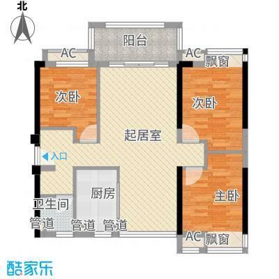 星富花园星富花园户型图3-2-123室2厅1卫户型3室2厅1卫