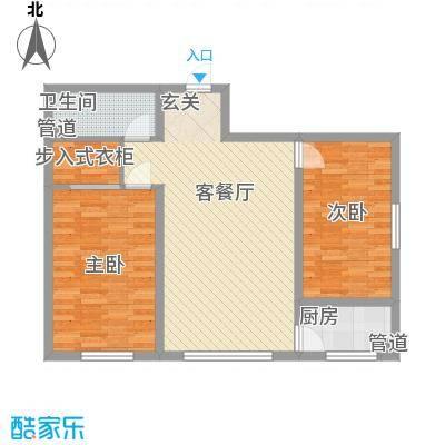 中油呼炼小区中油呼炼小区户型图花2室2厅12室户型2室
