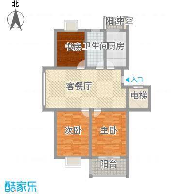 西欧名邸118.85㎡西欧名邸户型图3期6#楼B2户型3室1厅1卫1厨户型3室1厅1卫1厨