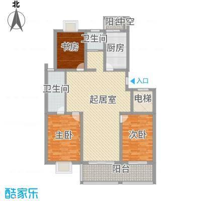 西欧名邸148.29㎡西欧名邸户型图3期6#楼B4户型3室2厅2卫1厨户型3室2厅2卫1厨