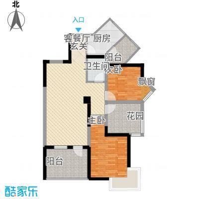 金色池塘89.00㎡金色池塘户型图H1户型两室两厅一卫892室2厅1卫1厨户型2室2厅1卫1厨