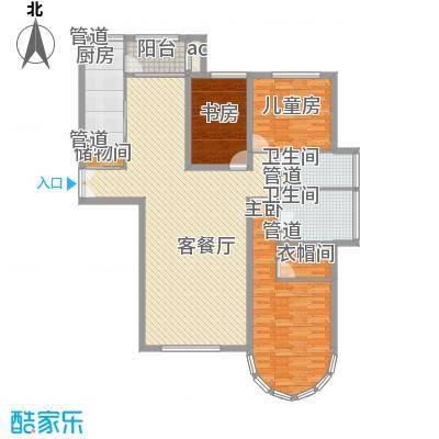 星宇花园星宇花园户型图3-2-223室2厅2卫1厨户型3室2厅2卫1厨