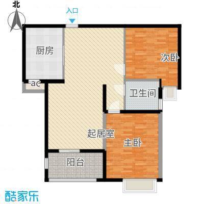 怡莲新城90.00㎡怡莲新城3室户型3室