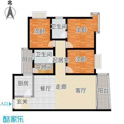 金羊花园173.00㎡金羊花园户型图4室2厅户型图4室2厅2卫户型4室2厅2卫
