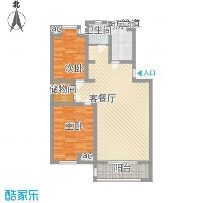 怡莲新城97.00㎡怡莲新城3室户型3室