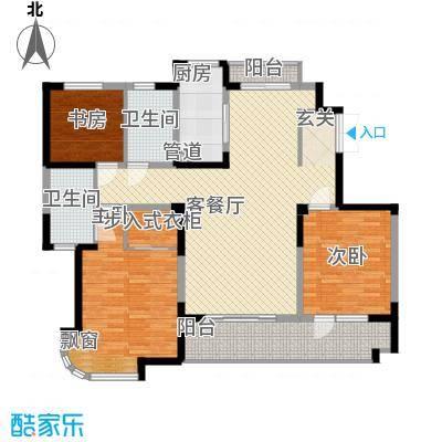 东华园143.00㎡东华园户型图D户型3室2厅2卫1厨户型3室2厅2卫1厨
