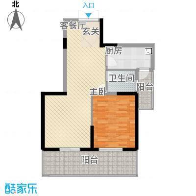 新加坡花园城79.61㎡新加坡花园城户型图蜀山阁16#07户型2室2厅1卫1厨户型2室2厅1卫1厨