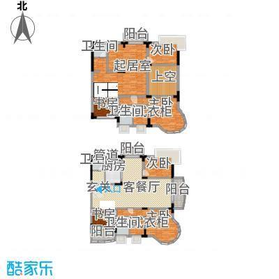 乡村花园南艳湾户型图6室4厅3卫1厨