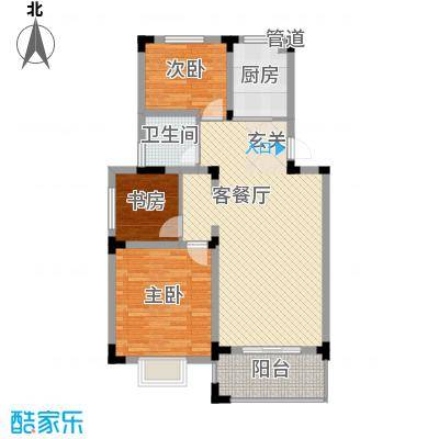 乡村花园南艳湾115.00㎡乡村花园南艳湾3室户型3室