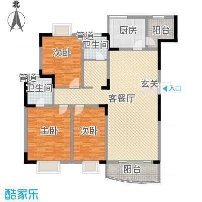 乡村花园南艳湾180.00㎡乡村花园南艳湾4室户型4室