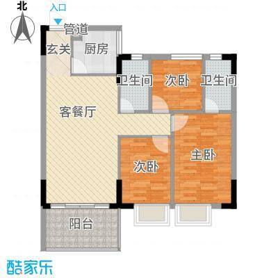 崇和花园崇和花园户型图3室2厅户型图3室2厅2卫1厨户型3室2厅2卫1厨