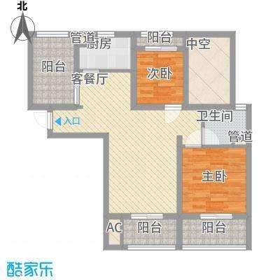 华邦光明世家95.51㎡华邦光明世家户型图20080426-户型X2室2厅1卫户型2室2厅1卫