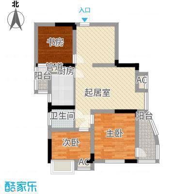 恒缘时代广场86.76㎡恒缘时代广场户型图G1户型3室2厅1卫1厨户型3室2厅1卫1厨