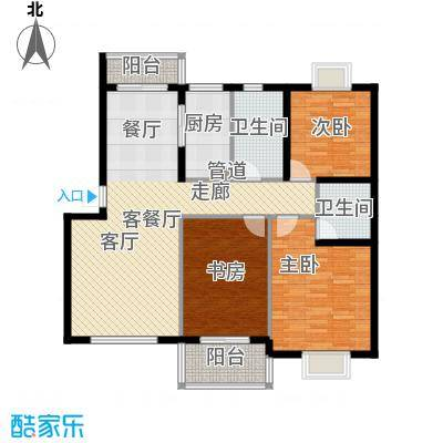 绿苑绿苑户型图5-1户型10室