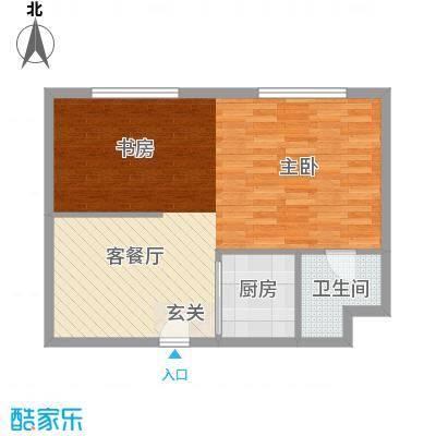 青城寓所71.00㎡户型1室1厅1卫1厨