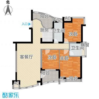 振业山水名城140.00㎡振业山水名城3室户型3室