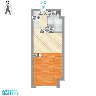 鹏欣・金游城鹏欣・金游城户型图公寓B1户型1室1厅1卫户型1室1厅1卫