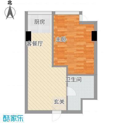 鹏欣・金游城鹏欣・金游城户型图公寓C4户型1室1厅1卫户型1室1厅1卫