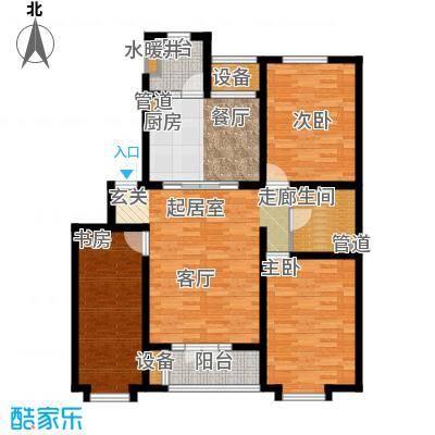 贵都之星贵都之星户型图三室两厅一卫33室2厅1卫1厨户型3室2厅1卫1厨