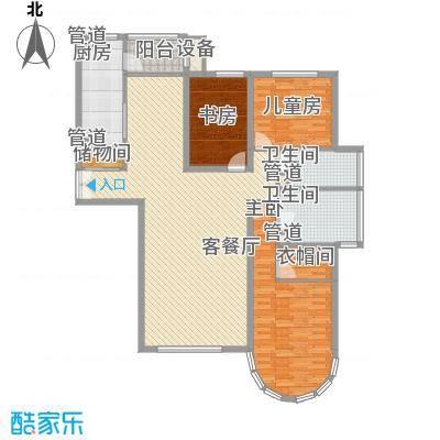 星景花园星景花园户型图3-2-223室2厅2卫1厨户型3室2厅2卫1厨