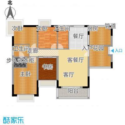 星月花园星月花园户型图四室两厅两卫14室2厅2卫1厨户型4室2厅2卫1厨