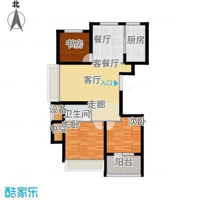 星月花园星月花园户型图三室两厅一卫43室2厅1卫1厨户型3室2厅1卫1厨
