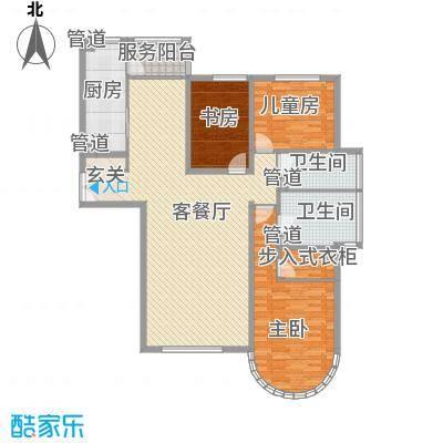 星湖花园星湖花园户型图3-2-223室2厅2卫1厨户型3室2厅2卫1厨