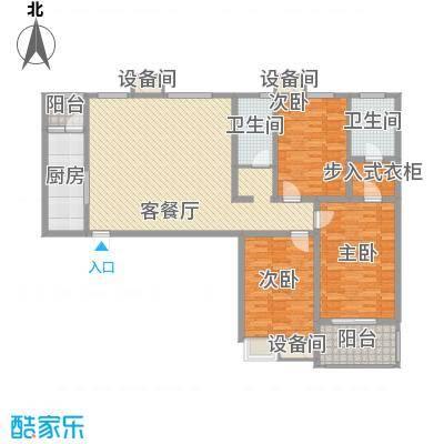 星盛花园星盛花园户型图三室两厅两卫43室2厅2卫1厨户型3室2厅2卫1厨