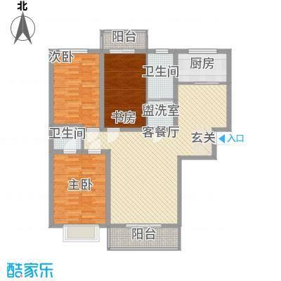 富丽小区3室2厅2户型3室