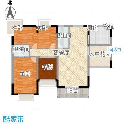 星盛花园星盛花园户型图四室两厅两卫14室2厅2卫1厨户型4室2厅2卫1厨