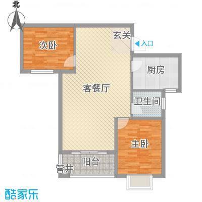 兴旺小区兴旺小区户型图两室两厅一卫32室2厅1卫1厨户型2室2厅1卫1厨