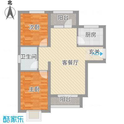 兴旺小区兴旺小区户型图两室两厅一卫42室2厅1卫1厨户型2室2厅1卫1厨