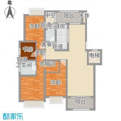 绿地乔治庄园163.00㎡绿地乔治庄园户型图二期花园洋房163平米户型4室2厅2卫1厨户型4室2厅2卫1厨