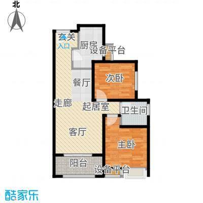 阳光北京城85.00㎡阳光北京城户型图85㎡户型2室2厅1卫1厨户型2室2厅1卫1厨