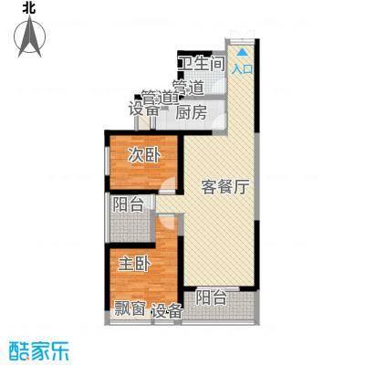 曲江中铁建国际城102.00㎡曲江中铁建国际城户型图D1户型2室2厅1卫1厨户型2室2厅1卫1厨