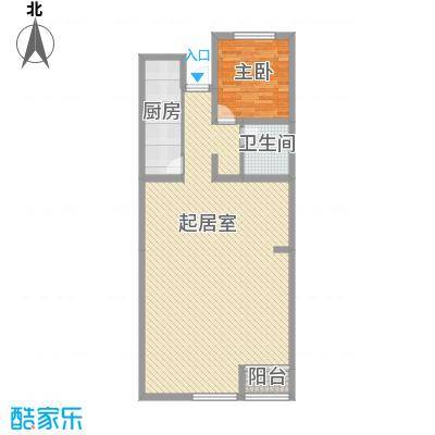 金属公司宿舍楼1-2-1-1户型10室