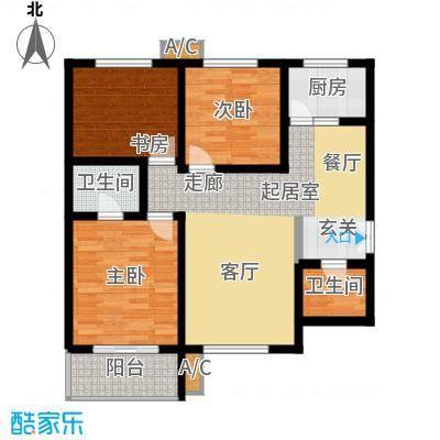 时丰中央公园116.58㎡时丰中央公园户型图13#A户型3室2厅2卫1厨户型3室2厅2卫1厨