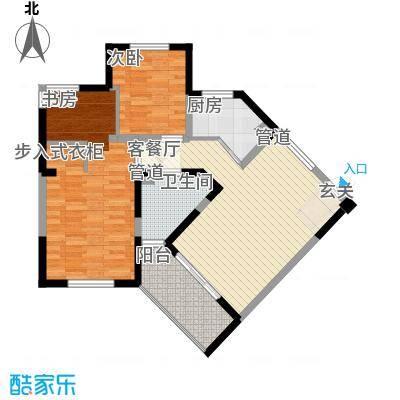 东华园133.06㎡东华园户型图J户型跃层上4室2厅2卫1厨户型4室2厅2卫1厨