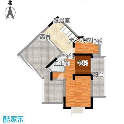 东华园152.61㎡东华园户型图I户型跃层下4室2厅2卫1厨户型4室2厅2卫1厨
