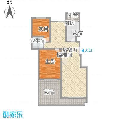 林隐天下125.60㎡林隐天下户型图lxl-A2-43室2厅2卫1厨户型3室2厅2卫1厨