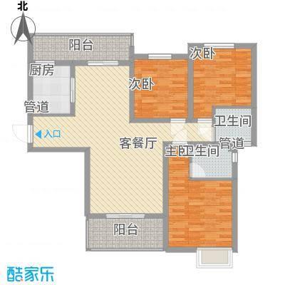 林隐天下115.00㎡林隐天下户型图lxl-B2户型2厅2卫1厨户型2厅2卫1厨