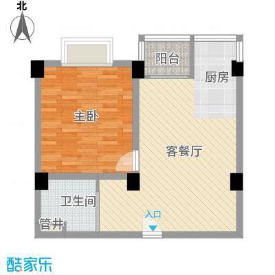 南海桂花园70.00㎡南海桂花园2室户型2室
