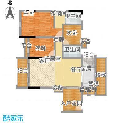 勒水名筑108.84㎡勒水名筑户型图6栋1梯3-10层01户型3室2厅2卫1厨户型3室2厅2卫1厨