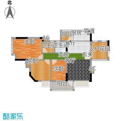 蓝色海岸94.00㎡蓝色海岸户型图A座二-二十六层03户型3室2厅2卫户型3室2厅2卫